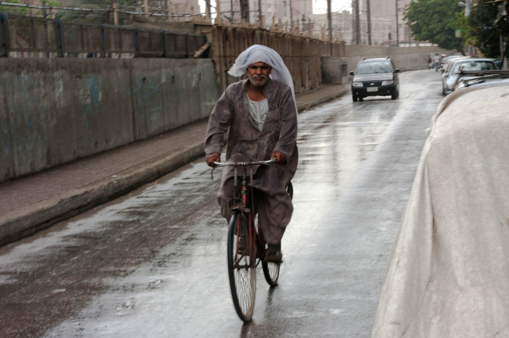 cairo,rain,bicycle,bike,photography