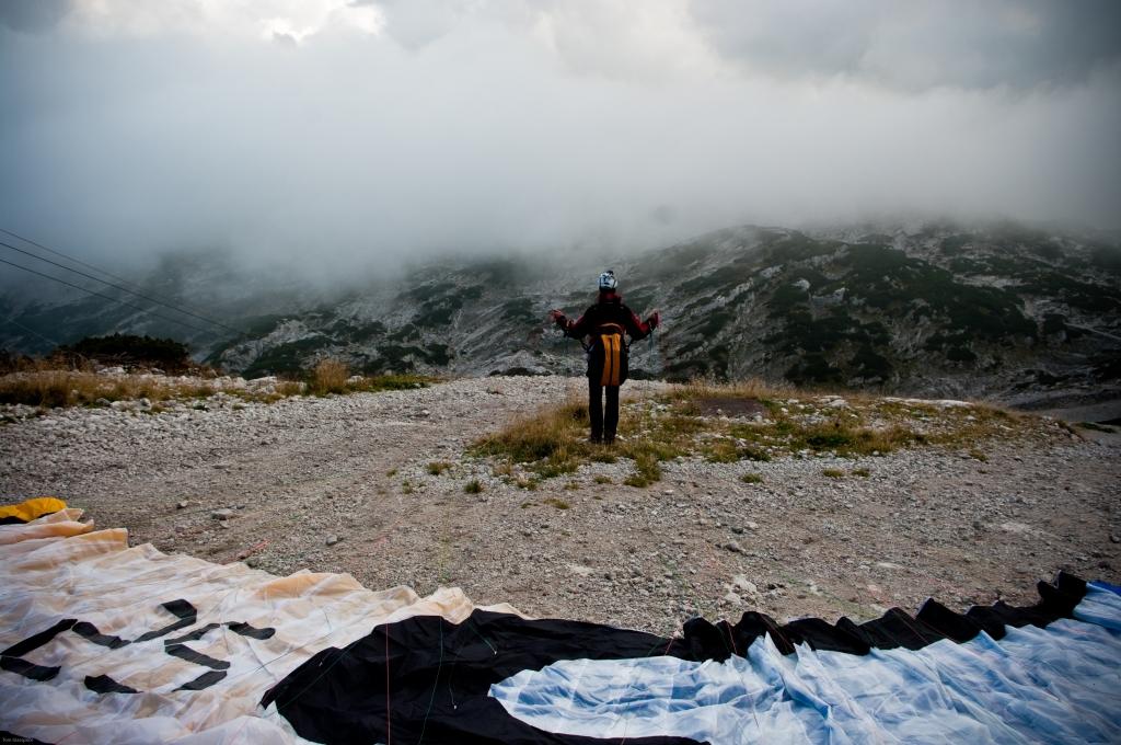 skydiver, paragliding, Austria, Alps, photography