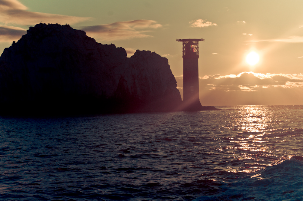 the needles, sunset, isle of wight, photography